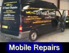 Car Scratch Repairs Manchester - Image of our repair van